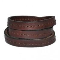 wikkelarmbanden-donker-bruin