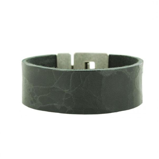zwarte-leren-armband