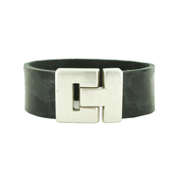zwarte-leren-armbanden