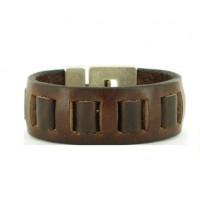 Leren-Gevlochten-Armbanden