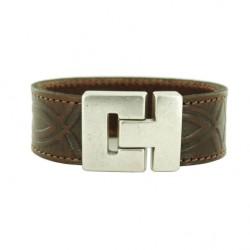leren-armband-bruin-met-inca-print-237