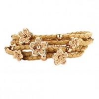 bruin-lederen-armband-bloemetjes