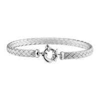 armband-gevlochten-zilver