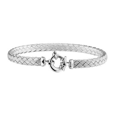 moderne zilveren armband