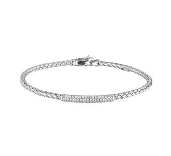 zilveren armbandje