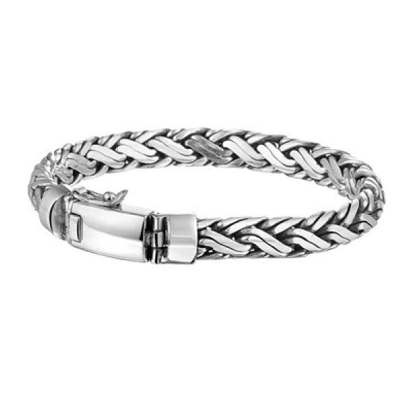 geoxideerd zilveren armband| armbandenvoordeel.nl