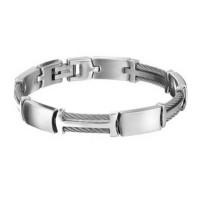 Stalen-armband-met-staaldraad