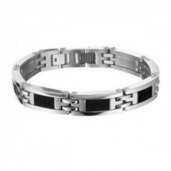 Stalen-armband-rubber
