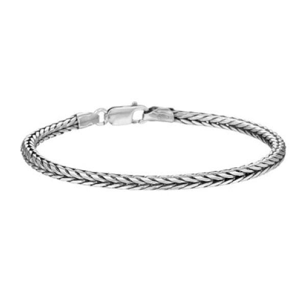 zilveren armband choker heren| armbandenvoordeel.nl
