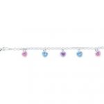 zilveren-armbandje-gekleurde-hartjes