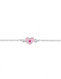 zilveren-kinderarmbandje-roze-hartje